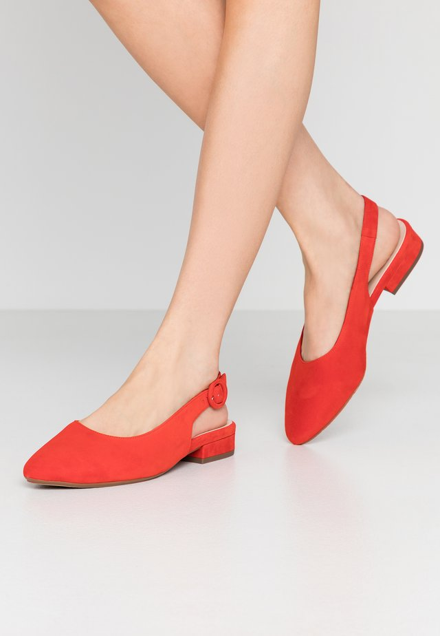 WIDE FIT FASELLE - Slingback ballet pumps - brasil
