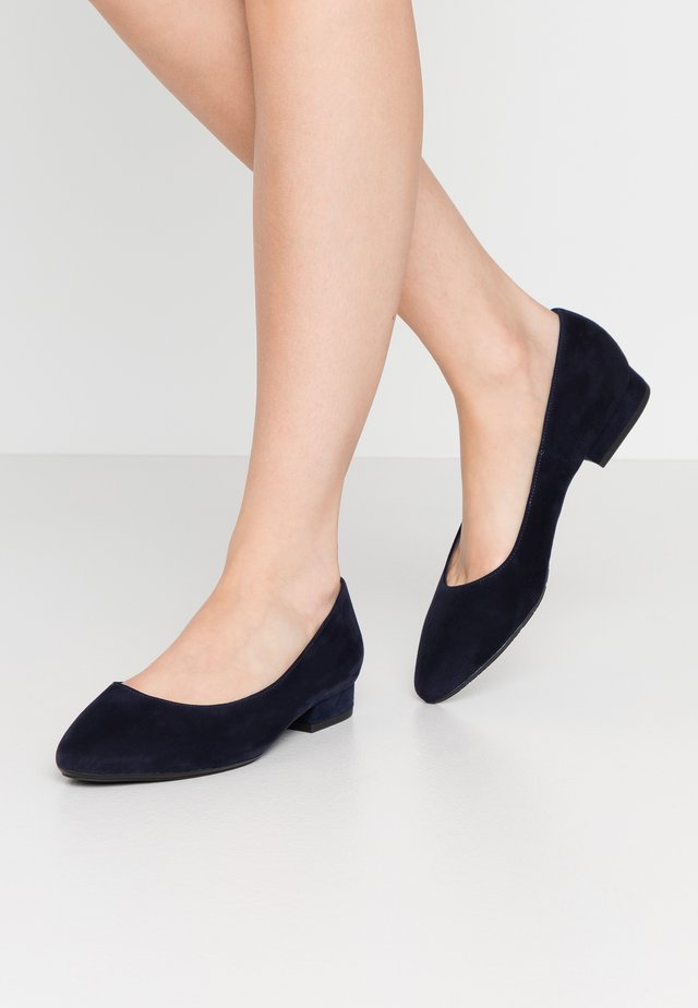 WIDE FIT FALA - Ballet pumps - notte