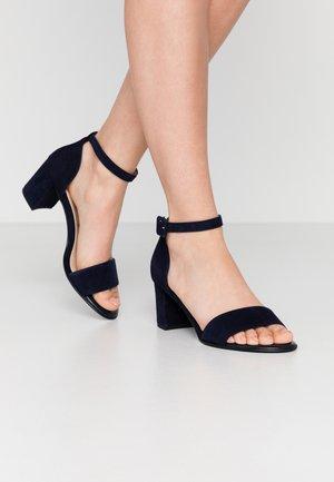 WIDE FIT FLORENTINE - Sandals - notte