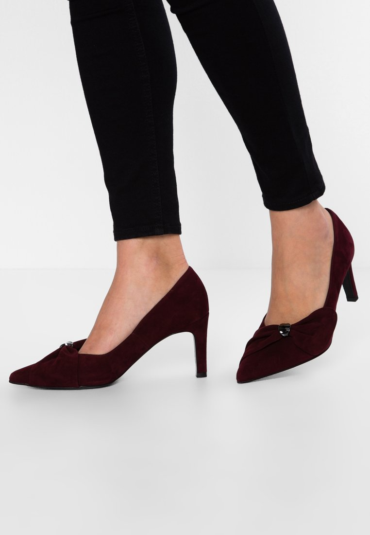 Peter Kaiser Wide Fit - WIDE FIT TILLA - Classic heels - carbanet