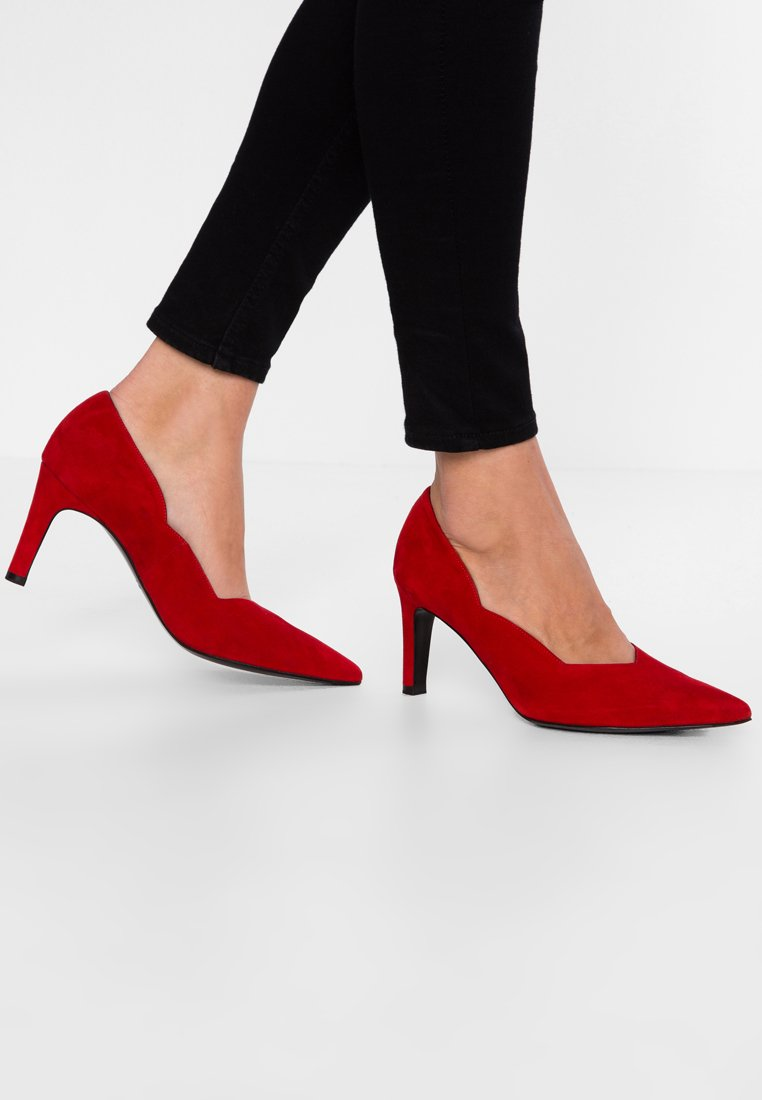 Peter Kaiser Wide Fit - WIDE FIT THESIA - Pumps - rot