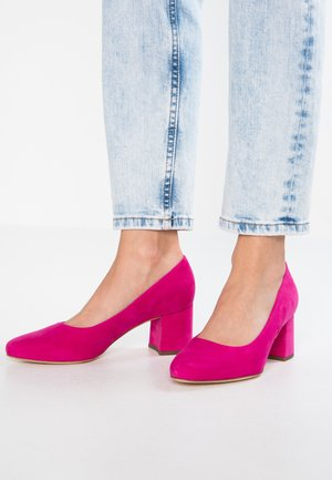 WIDE FIT WINA - Pumps - berry