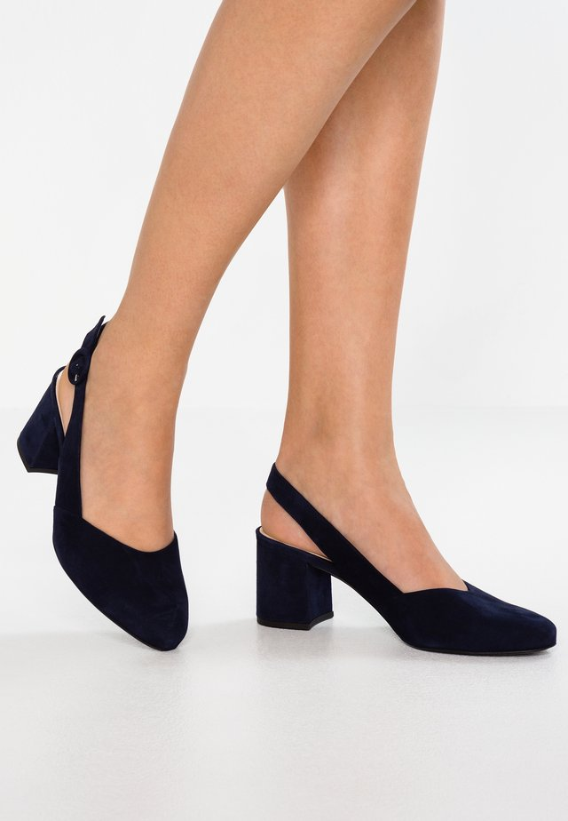 WIDE FIT WEDA - Pumps - notte