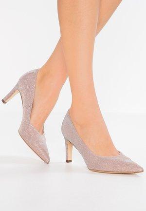 WIDE FIT TRIXI - Classic heels - powder schimmer
