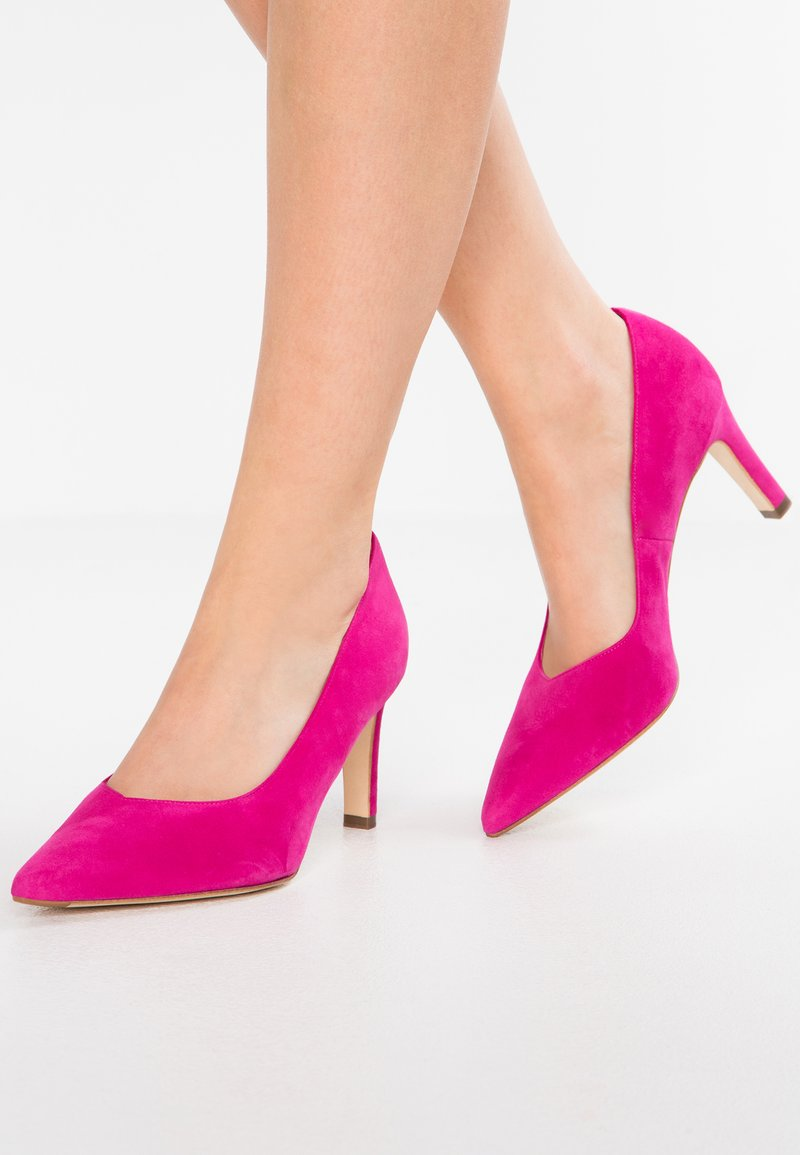 Peter Kaiser Wide Fit - WIDE FIT TELSE - Classic heels - berry