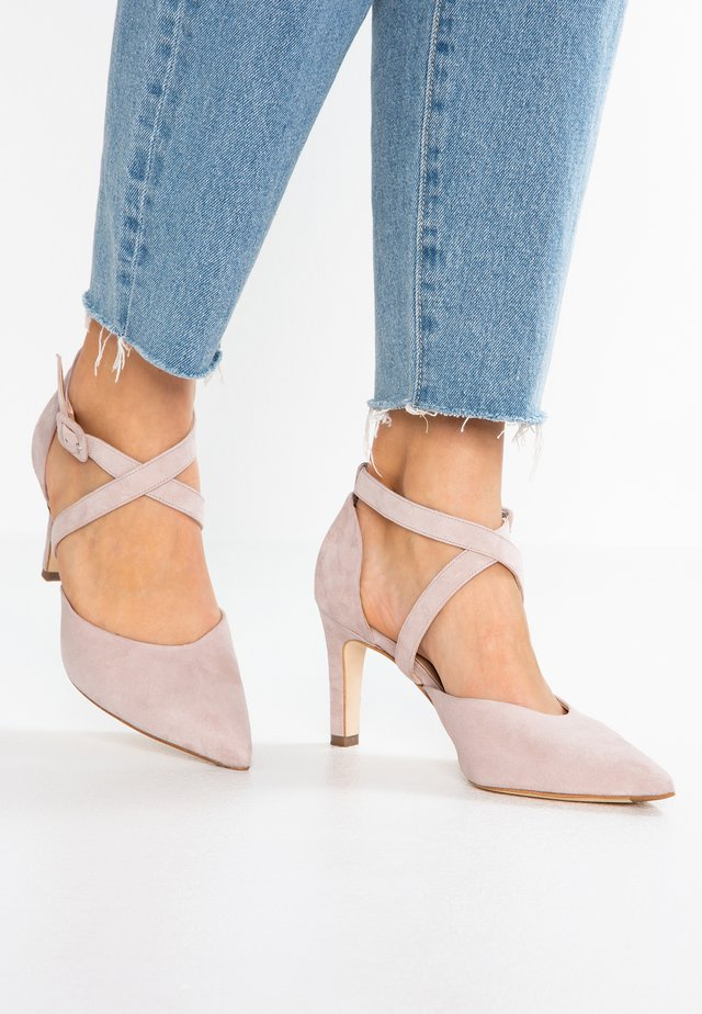 WIDE FIT TONIA - Pumps - mauve