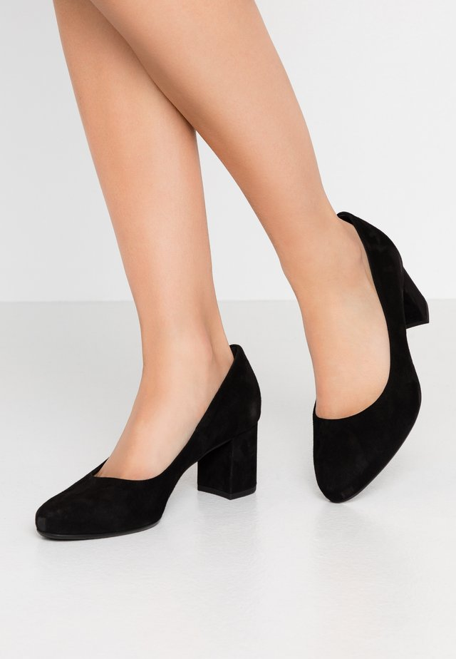WIDE FIT WINA - Klassiske pumps - schwarz