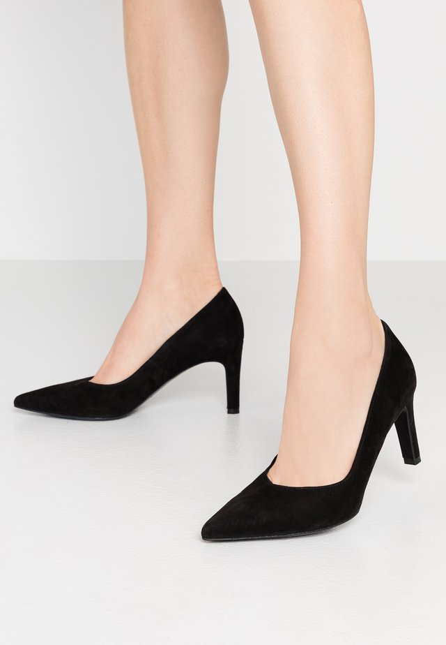 WIDE FIT TELSE - Klassiske pumps - schwarz