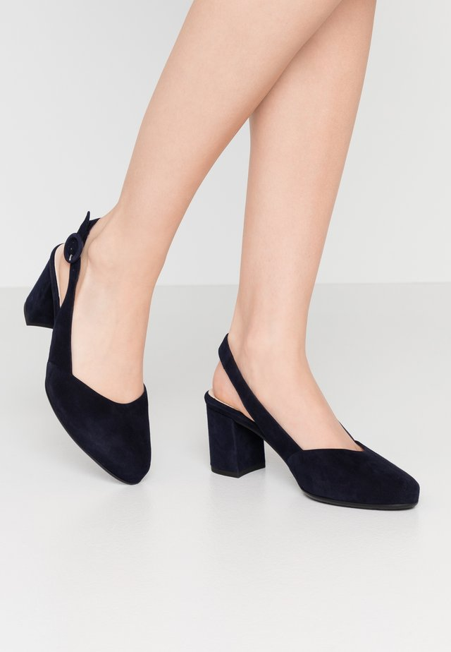 WIDE FIT WEDA  - Klassiske pumps - notte