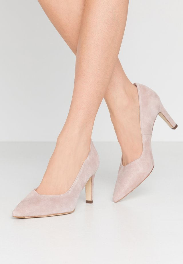 WIDE FIT TELSE - Classic heels - mauve