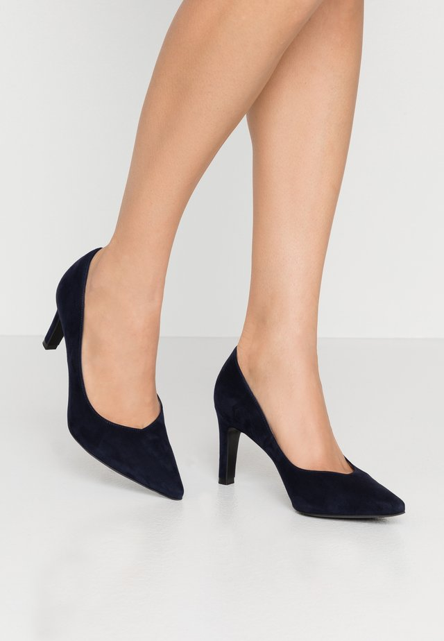 WIDE FIT TELSE - Classic heels - notte