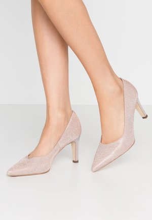WIDE FIT TRIXI - Classic heels - powder shimmer