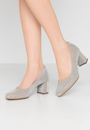 WIDE FIT WANJA - Pumps - sand shimmer