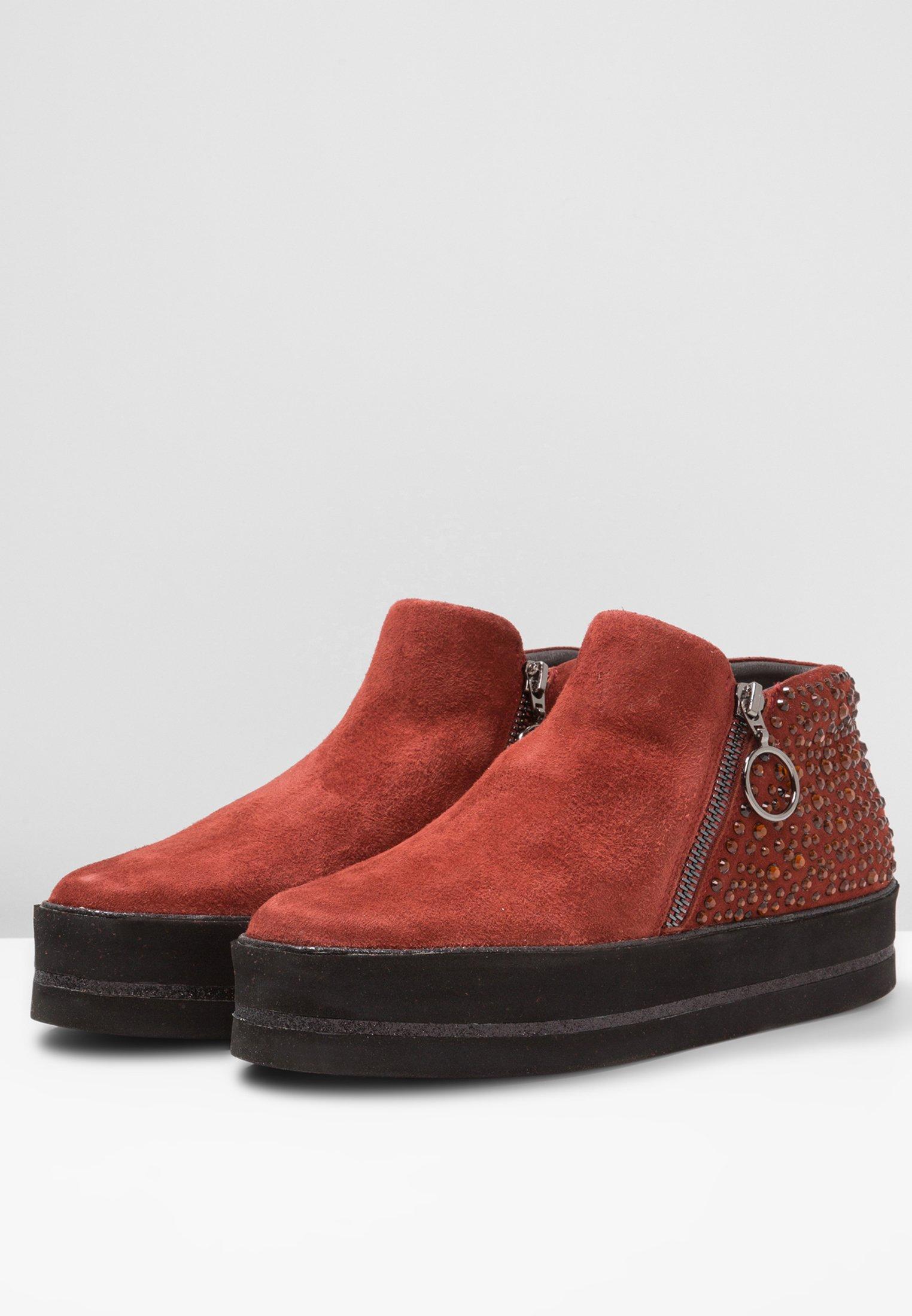Pepen Sole Boots à talons tosca