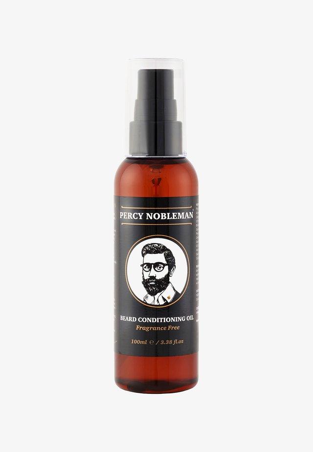 BEARD OIL - Olejek do brody - original fragrance free