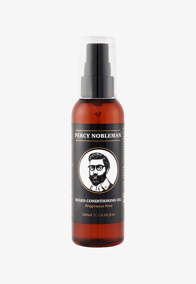 Percy Nobleman - BEARD OIL - Baardolie - original fragrance free