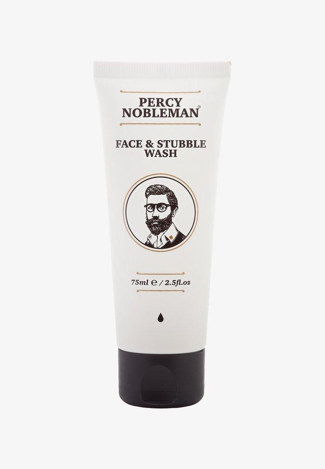 FACE & STUBBLE WASH - Oczyszczanie twarzy - -
