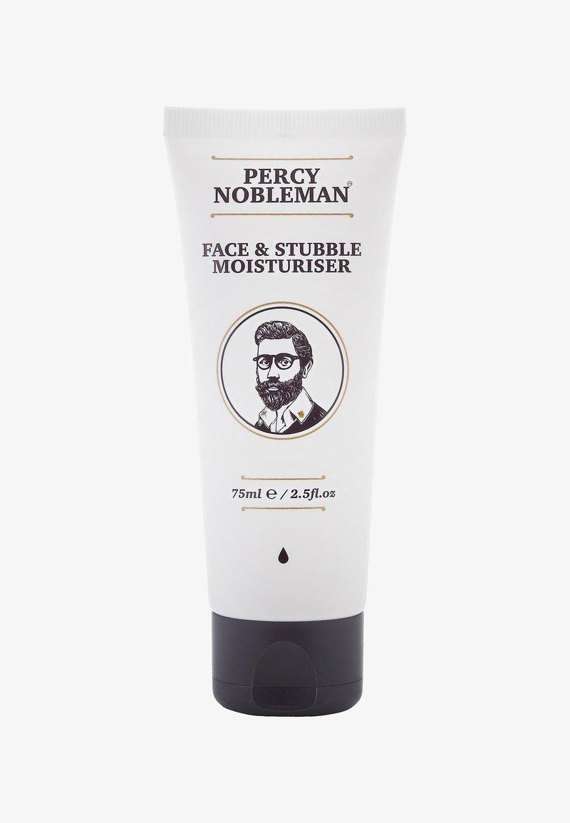 Percy Nobleman - FACE & STUBBLE MOISTURISER - Dagkräm - -