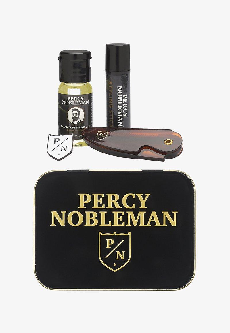 Percy Nobleman - TRAVEL TIN - Shaving set - -