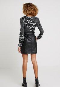 PEP - MARIPOSA SKIRT - A-line skirt - black - 2