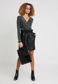 PEP - MARIPOSA SKIRT - A-line skirt - black - 1