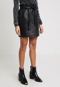 PEP - MARIPOSA SKIRT - A-line skirt - black - 0