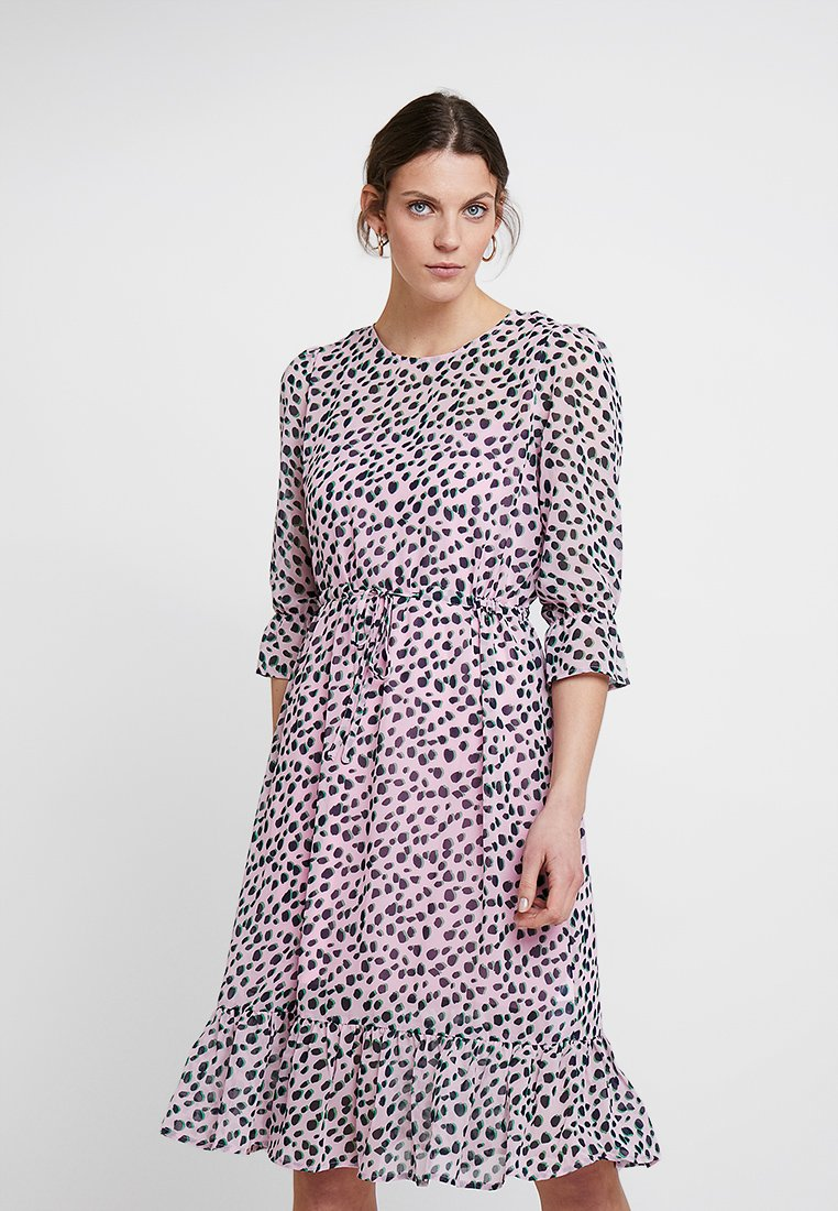 PEP - MEO DRESS - Day dress - rose