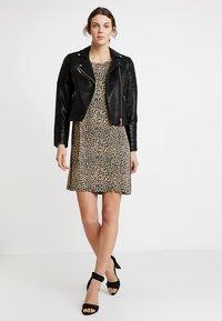 PEP - MARISSA - Jersey dress - black - 1