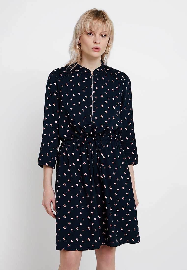PEP - MAYA DRESS - Shirt dress - blue