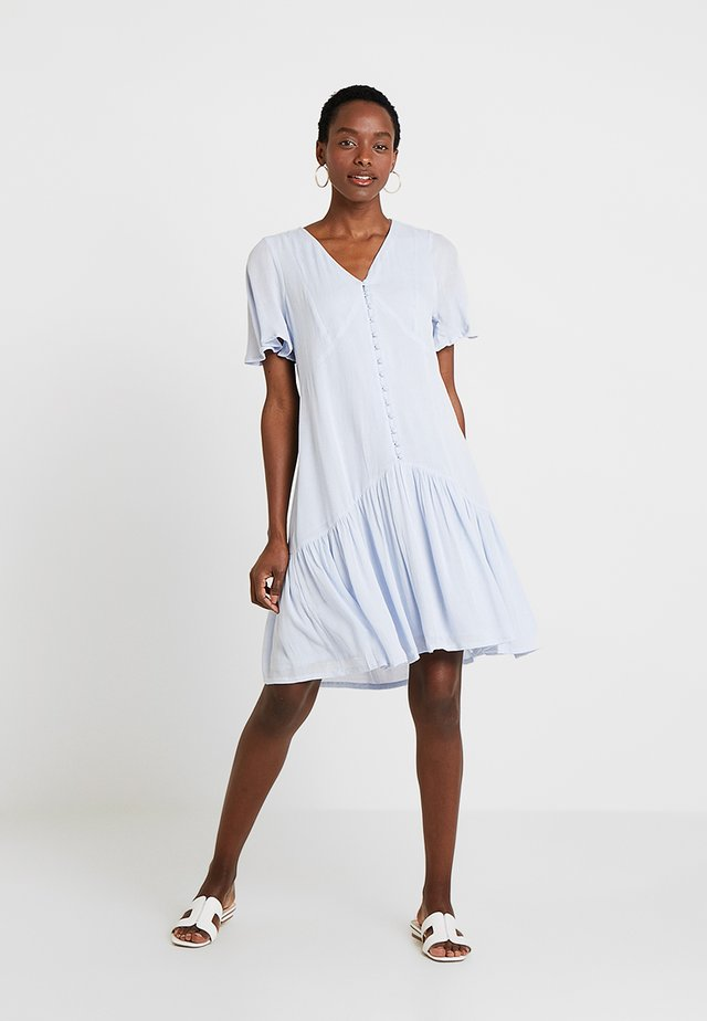 Shirt dress - heather