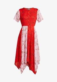 PEP - Blusenkleid - pop red - 4