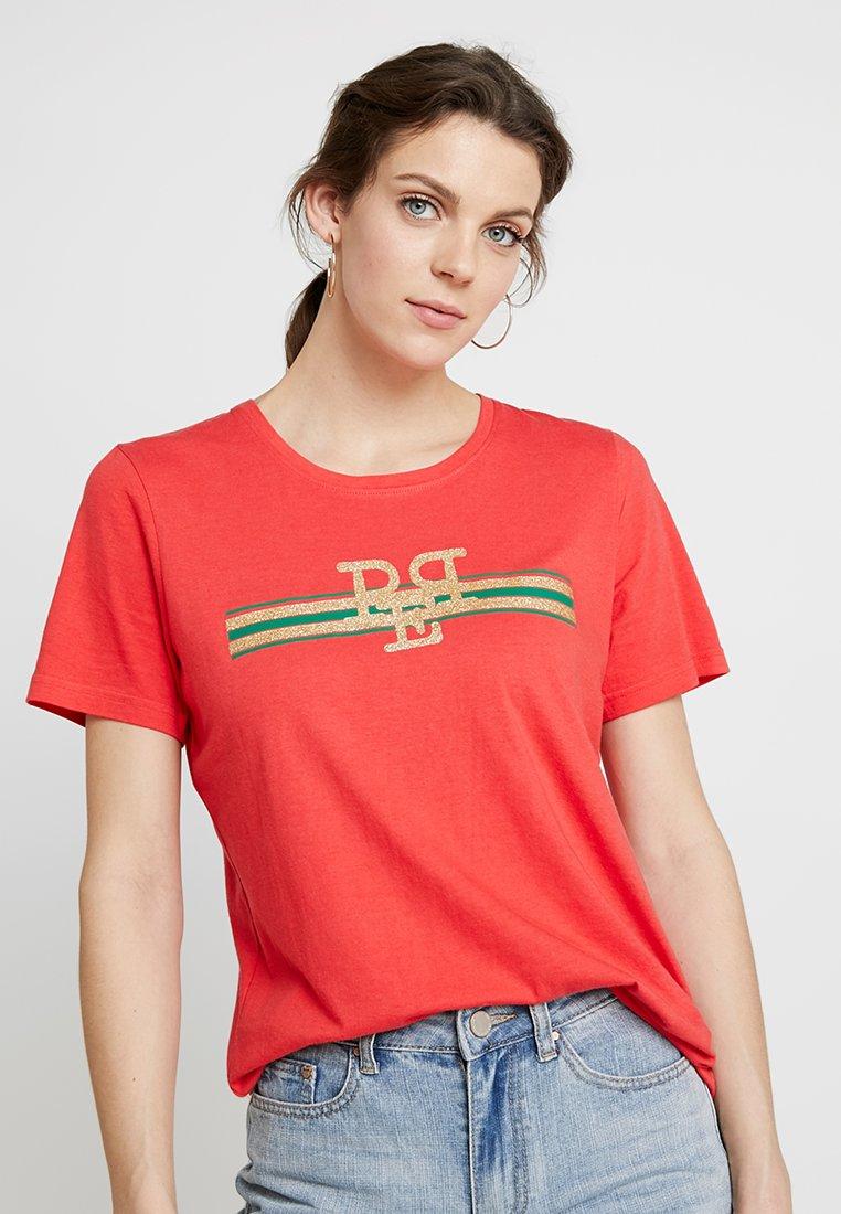 PEP - TEE - Print T-shirt - poppy red
