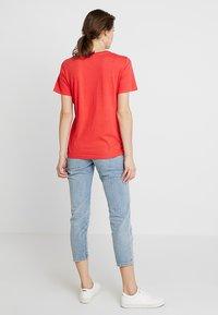PEP - TEE - Print T-shirt - poppy red - 2