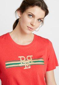 PEP - TEE - Print T-shirt - poppy red - 3