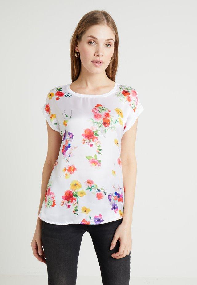 T-shirt med print - mimosa