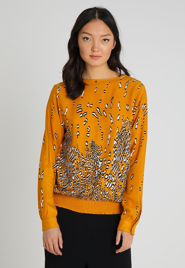BLOUSE TOULOUSE - Blouse - mustard yellow