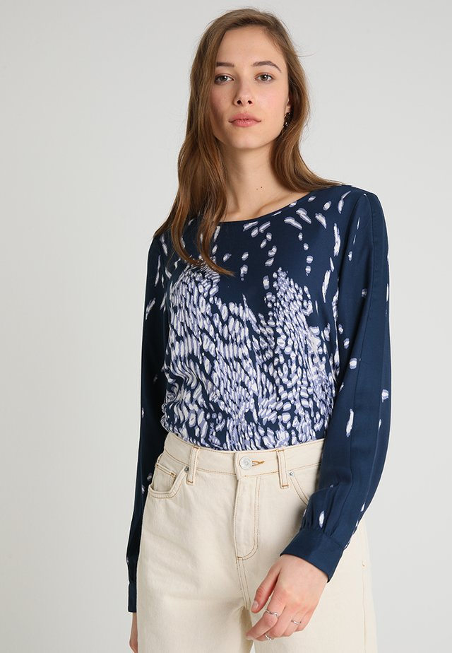 BLOUSE TOULOUSE - Blus - dark blue
