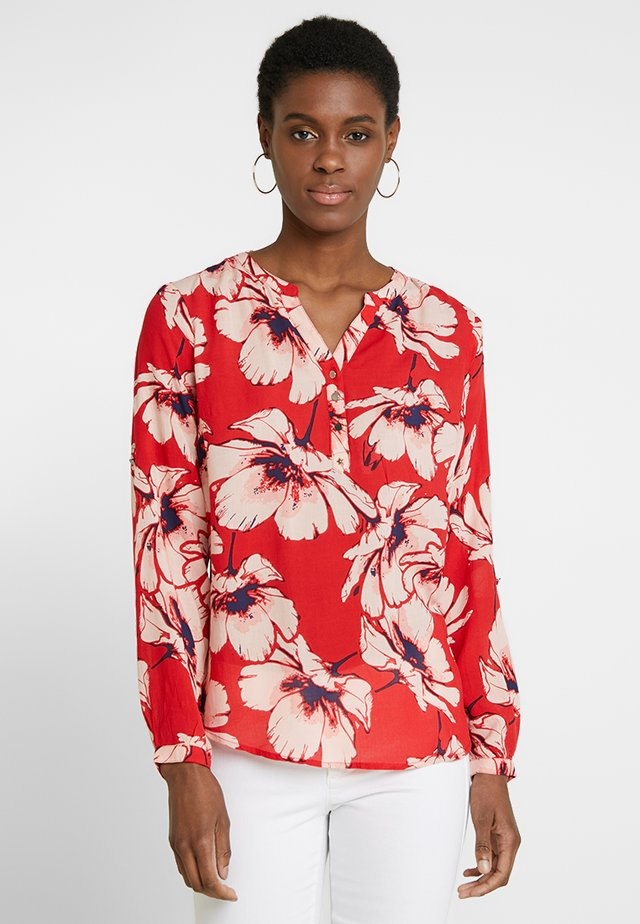 MADDY FLOWER - Blouse - pop red