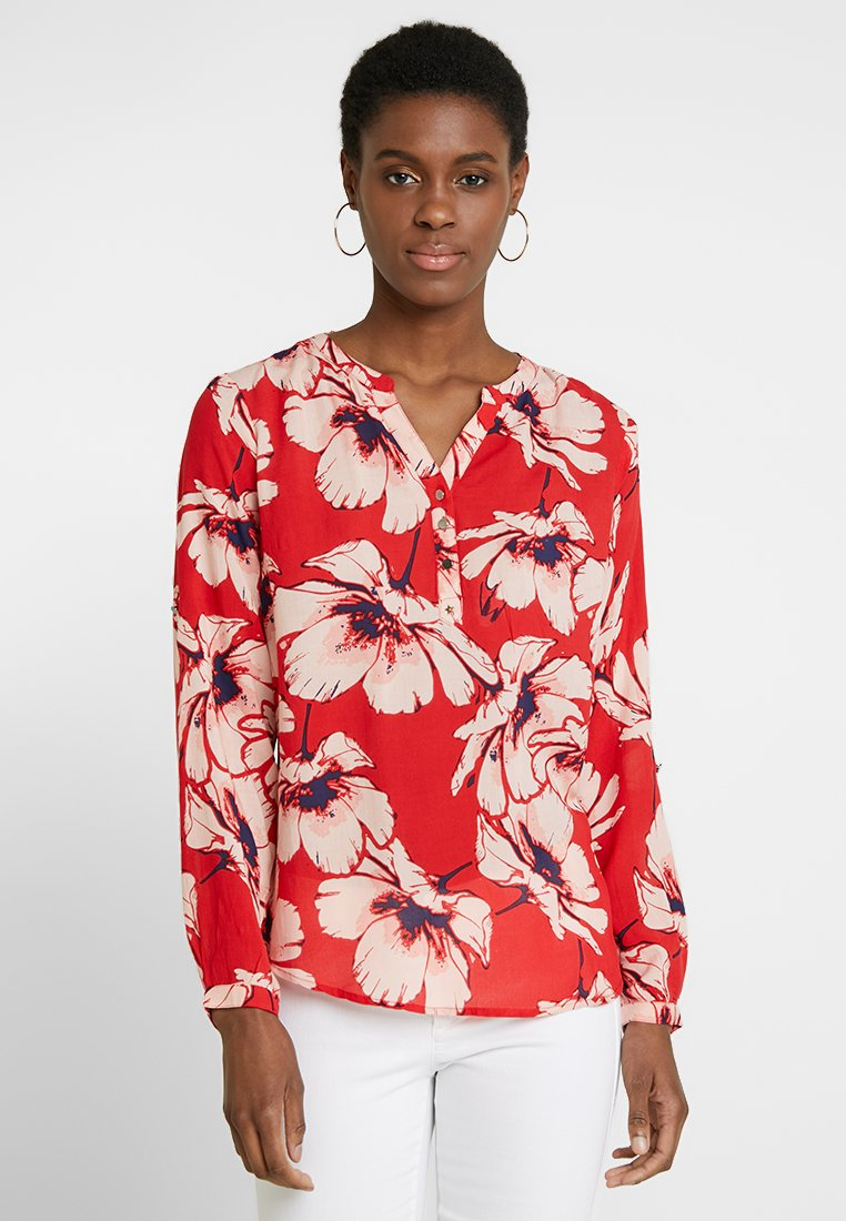 PEP - MADDY FLOWER - Blouse - pop red