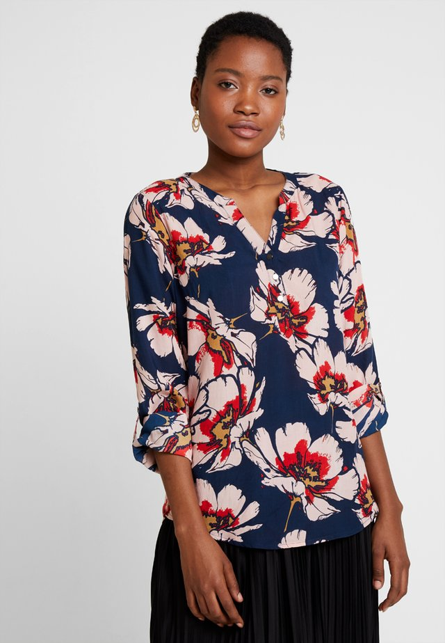 MADDY FLOWER - Blouse - dark blue