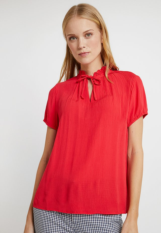 BLOUSE MINNI - Blouse - poppy red