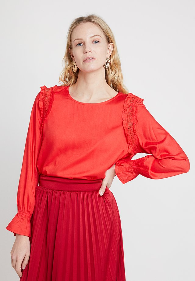 MILLEBEE BLOUSE - Blus - poppy red