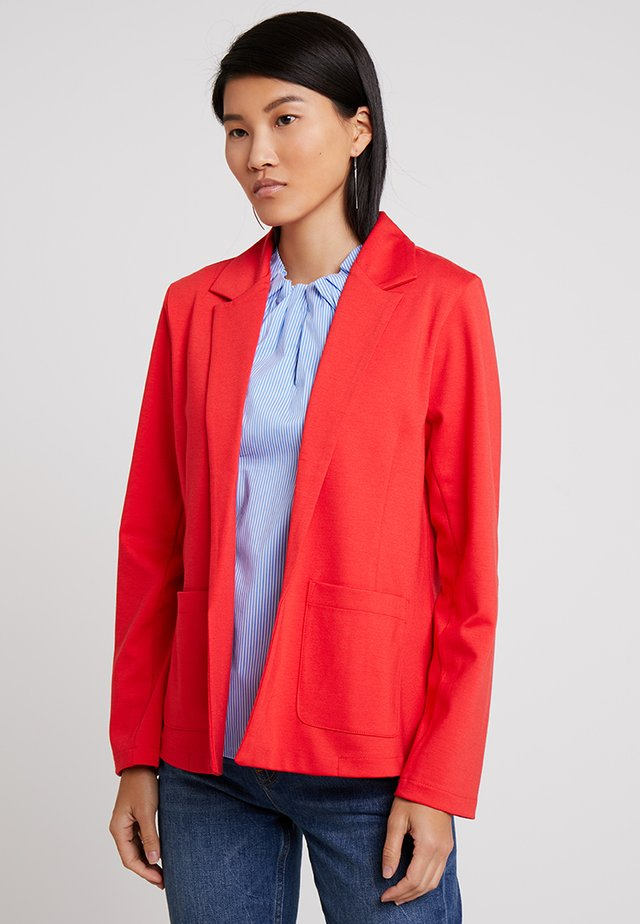 MATHILDE - Blazer - poppy red
