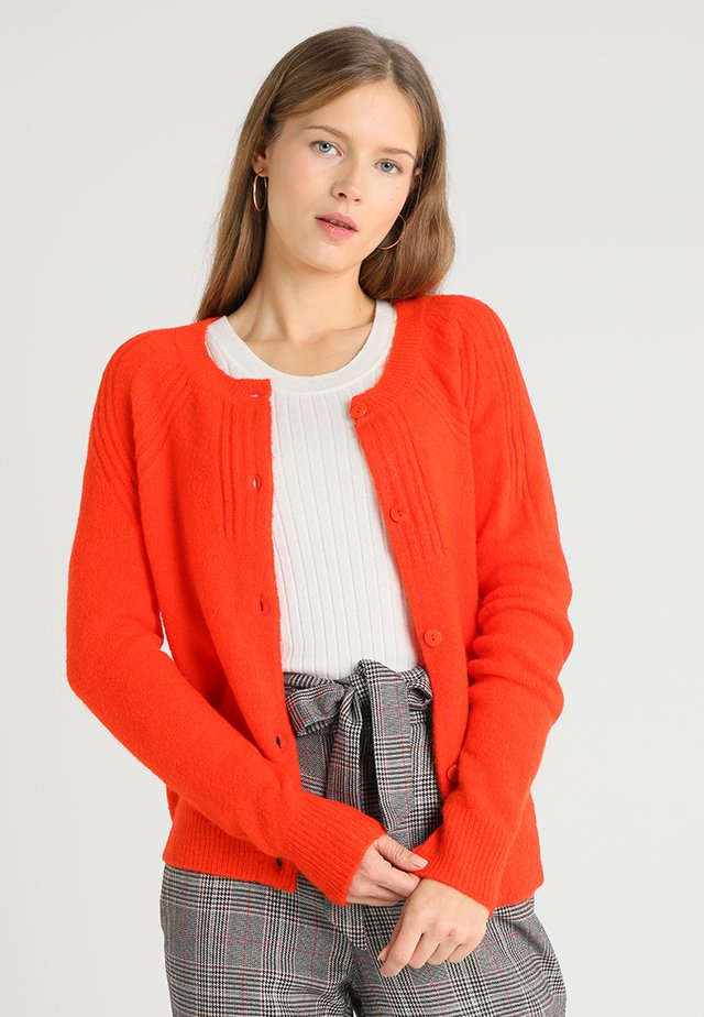 CARDIGAN TAMARA - Kofta - orange