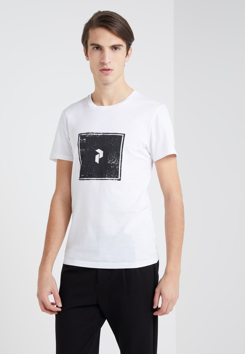 Peak Performance Urban - TEE - Camiseta estampada - white