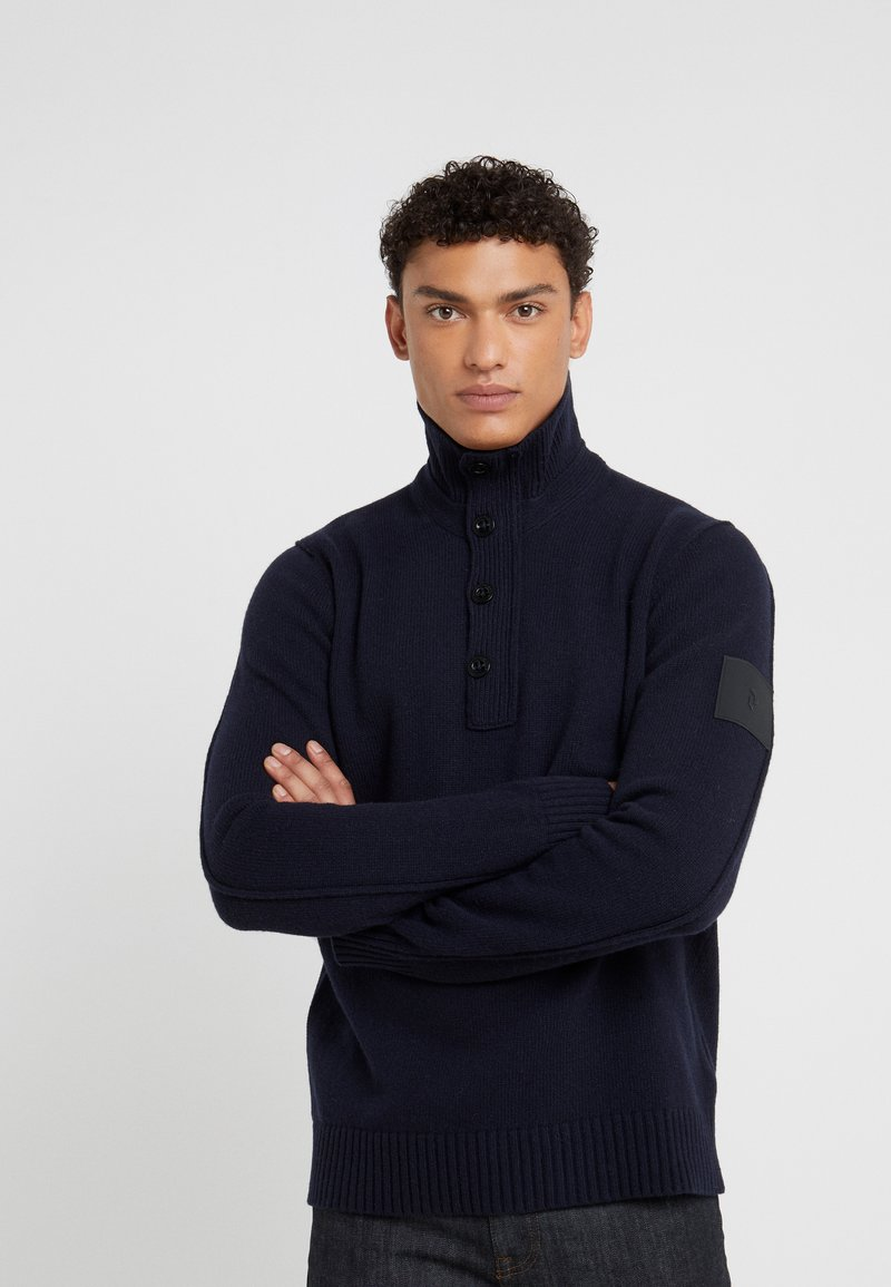 Peak Performance Urban - GERRIT TNECK - Strickpullover - salute blue