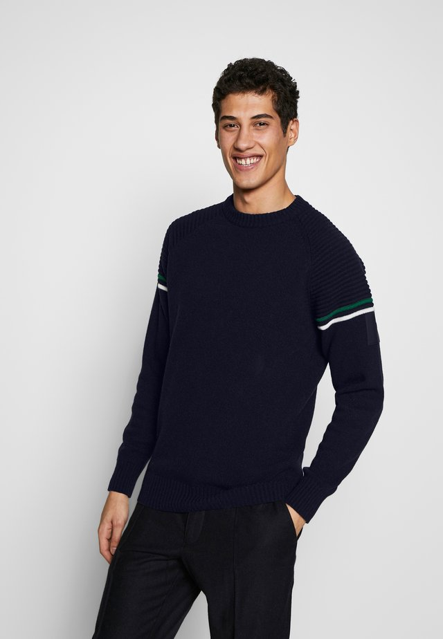 RESORT CREW - Strickpullover - salute blue