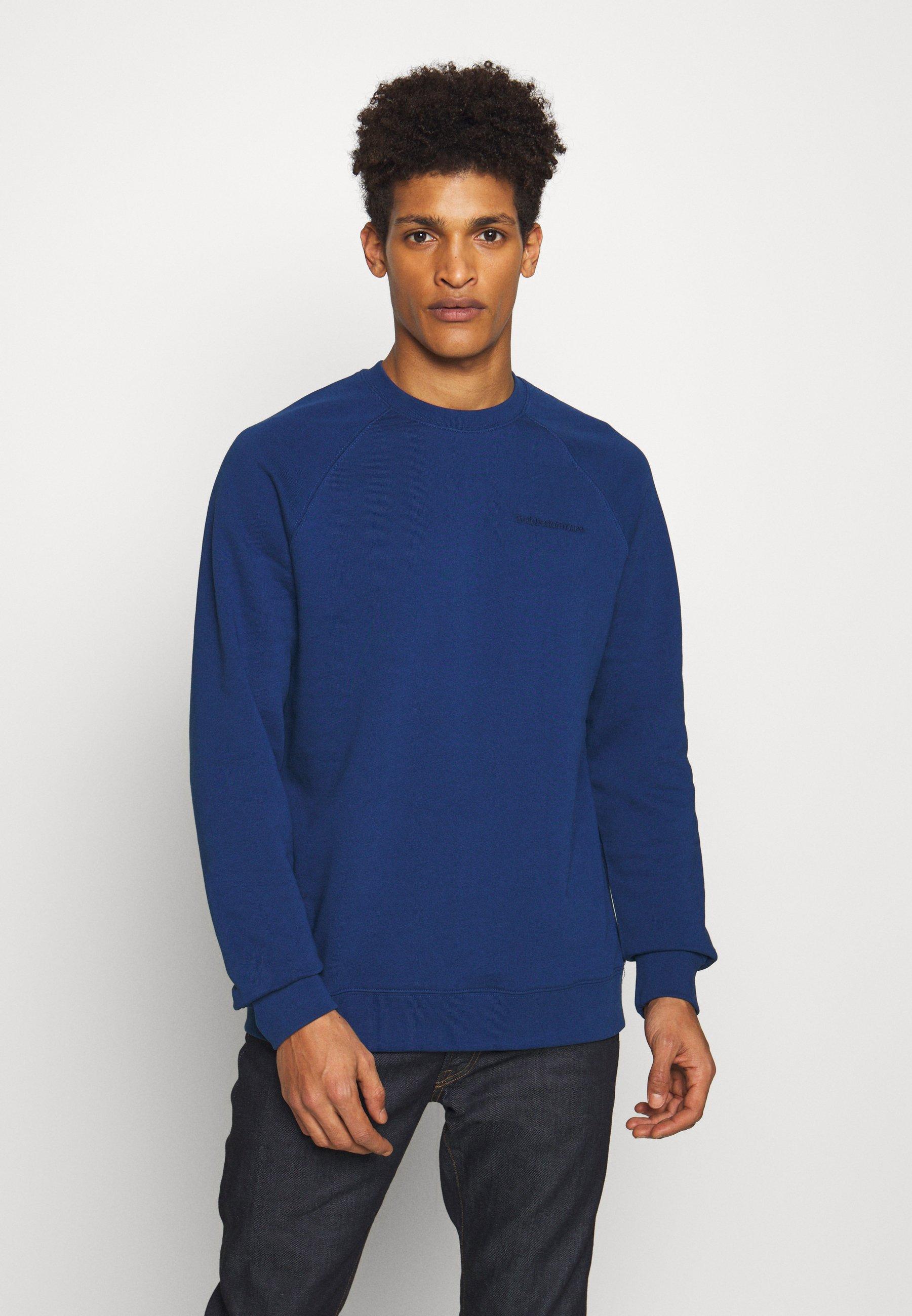 Peak Performance Urban URBAN CREW - Bluza - cimmerian blue