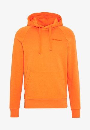 URBAN HOODIE - Hættetrøjer - orange dune