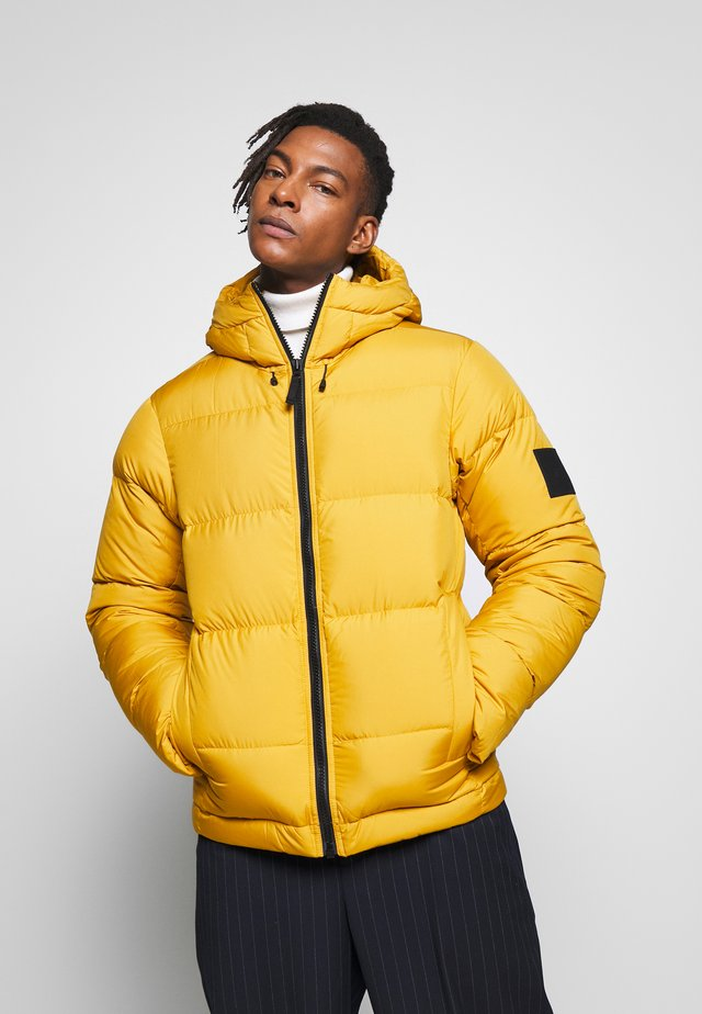RIVEL JACKET - Daunenjacke - smudge yellow